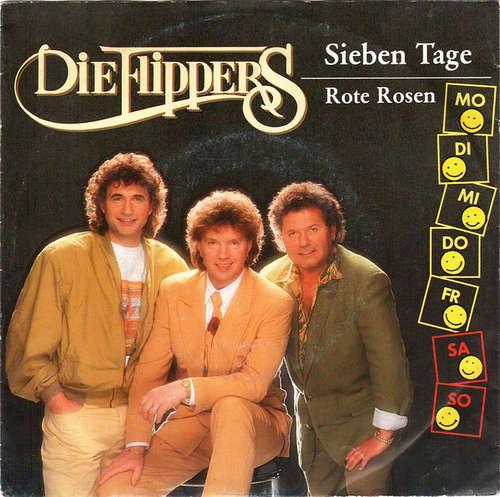 Cover zu Die Flippers - Sieben Tage (7, Single) Schallplatten Ankauf