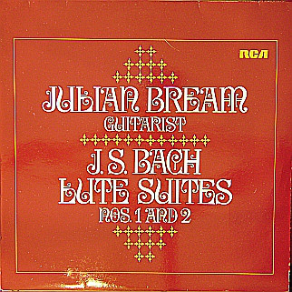 Cover Julian Bream, J. S. Bach* - J. S. Bach Lute Suites Nos. 1 And 2 (LP, Album) Schallplatten Ankauf