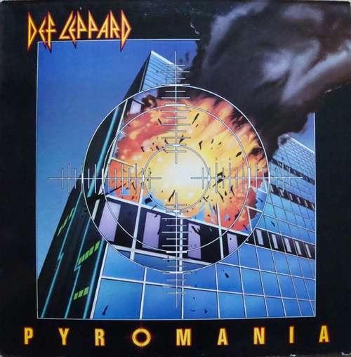 Cover Def Leppard - Pyromania (LP, Album, Red) Schallplatten Ankauf