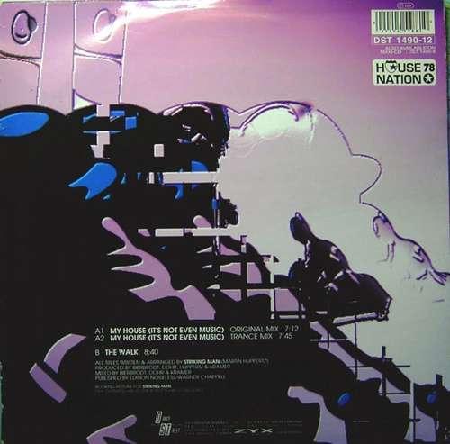 Cover Striking Man - My House (It's Not Even Music) (12) Schallplatten Ankauf