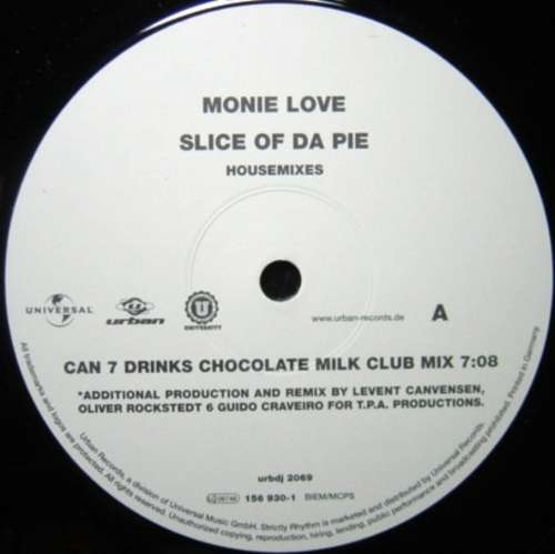 Bild Monie Love - Slice Of Da Pie (Housemixes) (12) Schallplatten Ankauf