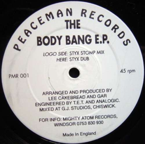 Bild Lee Cakebread - The Body Bang E.P. (12, EP) Schallplatten Ankauf