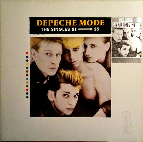 Cover Depeche Mode - The Singles 81 - 85 (LP, Comp, Gat) Schallplatten Ankauf
