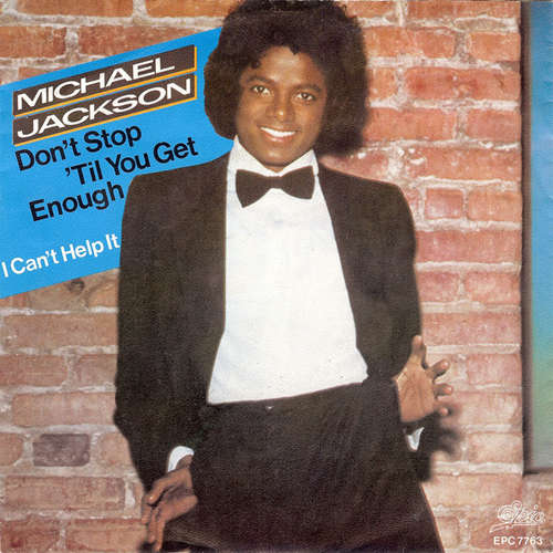 Cover Michael Jackson - Don't Stop 'Til You Get Enough (7, Single) Schallplatten Ankauf