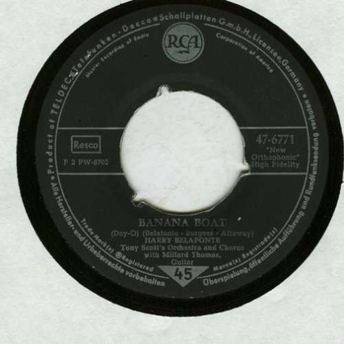 Cover zu Harry Belafonte, Tony Scott's Orchestra And Chorus* With Millard Thomas - Banana Boat (7, Single, Mono) Schallplatten Ankauf