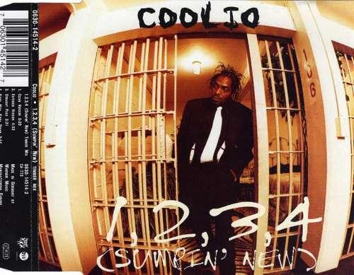 Cover Coolio - 1, 2, 3, 4 (Sumpin' New) (CD, Single) Schallplatten Ankauf