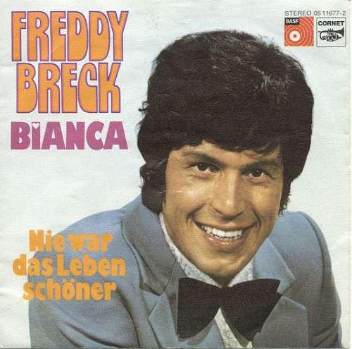 Cover zu Freddy Breck - Bianca (7, Single) Schallplatten Ankauf