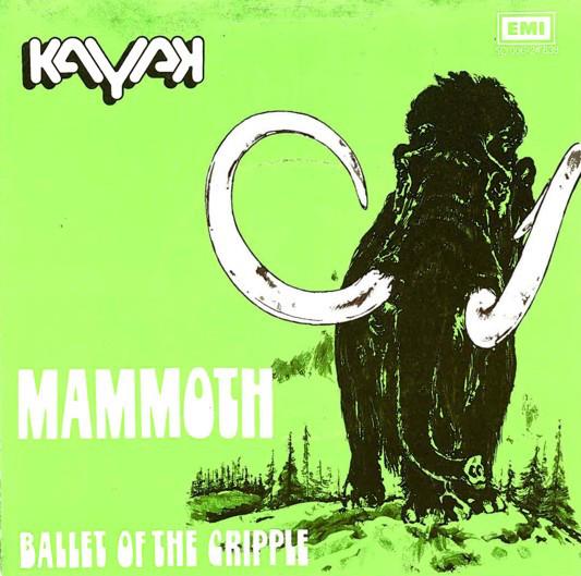 Cover Kayak - Mammoth (7, Single) Schallplatten Ankauf