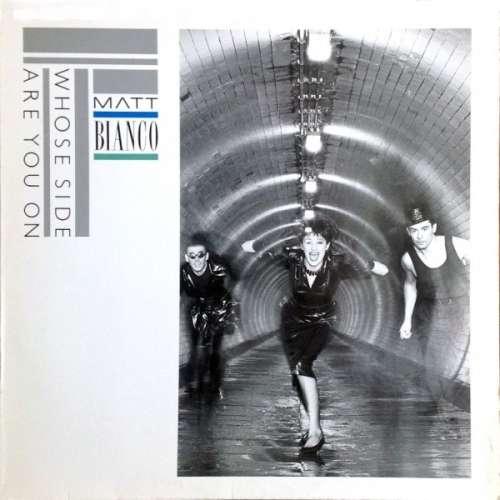 Cover Matt Bianco - Whose Side Are You On (LP, Album) Schallplatten Ankauf