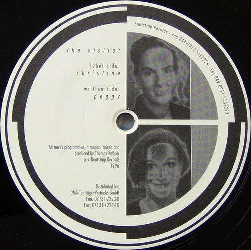 Cover The Visitor - Christine / Peggy (12) Schallplatten Ankauf