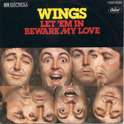 Bild Wings (2) - Let 'Em In / Beware My Love (7, Single, Tel) Schallplatten Ankauf