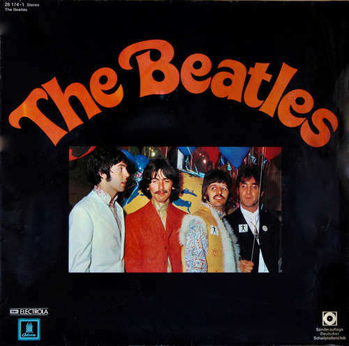 Cover The Beatles - The Beatles (LP, Comp, Club) Schallplatten Ankauf