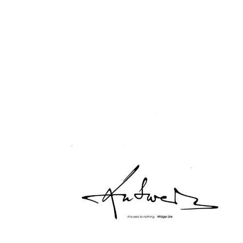 Bild Midge Ure - Answers To Nothing (LP, Album) Schallplatten Ankauf