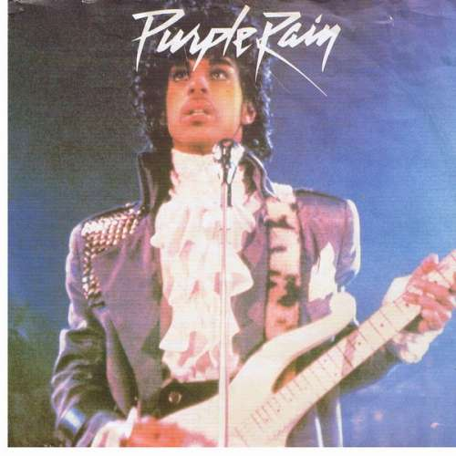 Cover zu Prince And The Revolution - Purple Rain (7, Single) Schallplatten Ankauf