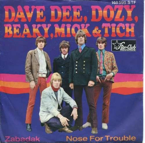 Bild Dave Dee, Dozy, Beaky, Mick & Tich - Zabadak / Nose For Trouble (7, Single) Schallplatten Ankauf