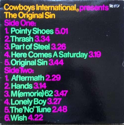 Bild Cowboys International ®* - The Original Sin (LP, Album, Sta) Schallplatten Ankauf