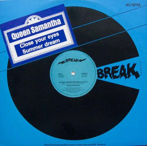 Cover Queen Samantha - Close Your Eyes / Summer Dream (12) Schallplatten Ankauf