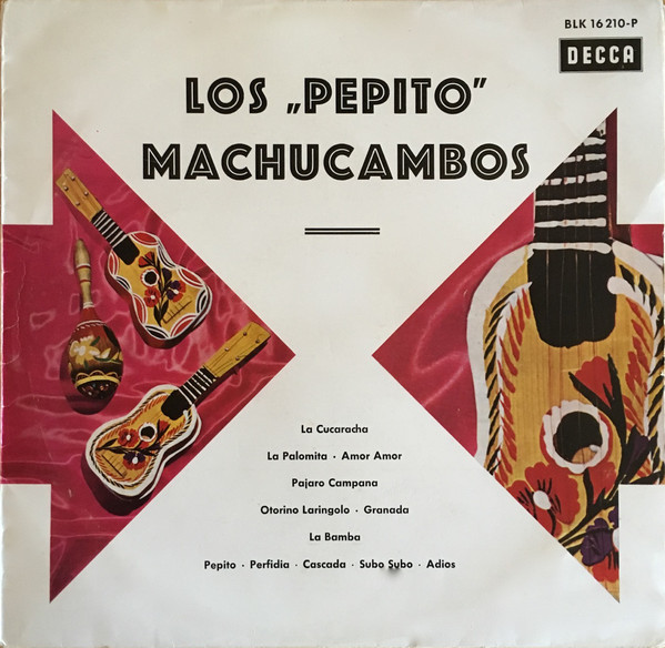 Cover Los Pepito Machucambos* - Los Pepito Machucambos  (LP, Album, Mono) Schallplatten Ankauf