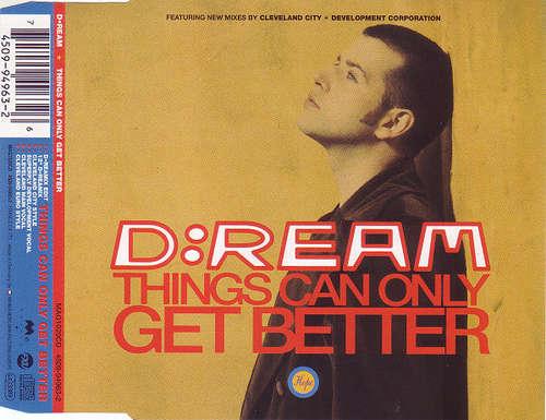 Bild D:Ream - Things Can Only Get Better (CD, Maxi) Schallplatten Ankauf
