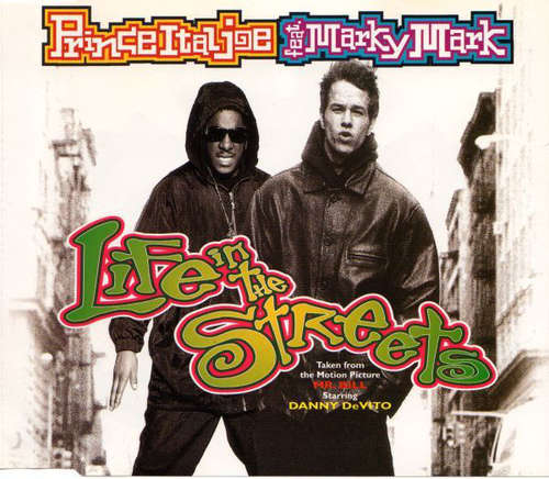 Cover Prince Ital Joe Feat. Marky Mark - Life In The Streets (CD, Maxi) Schallplatten Ankauf
