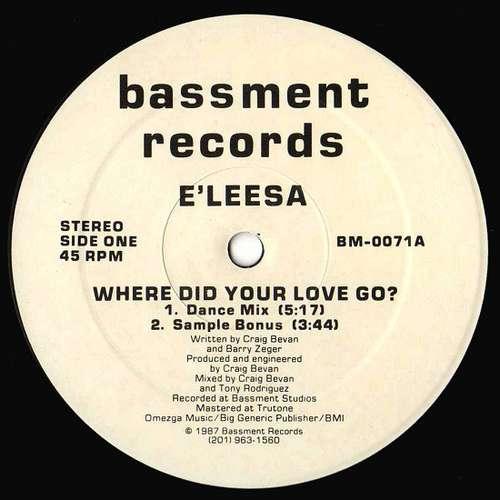 Bild E'leesa* - Where Did Your Love Go? (12) Schallplatten Ankauf