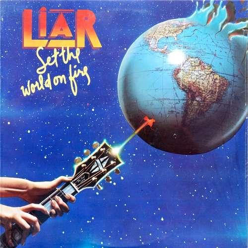 Cover zu Liar (3) - Set The World On Fire (LP, Album) Schallplatten Ankauf