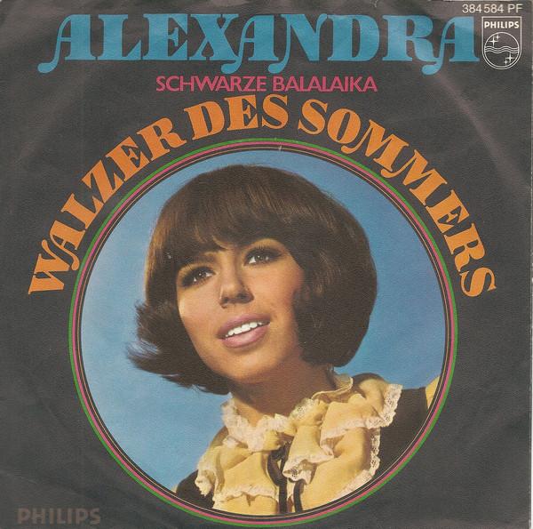 Bild Alexandra (7) - Schwarze Balalaika (7, Single, Mono) Schallplatten Ankauf