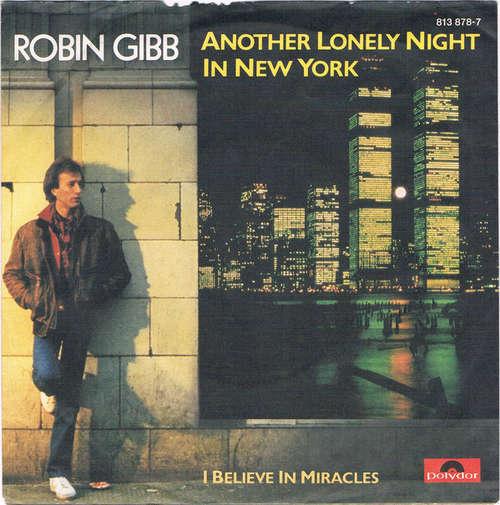 Bild Robin Gibb - Another Lonely Night In New York (7, Single) Schallplatten Ankauf