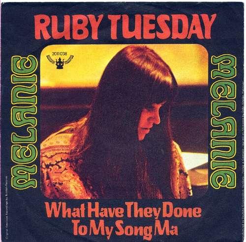 Bild Melanie (2) - Ruby Tuesday (7, Single, Mono) Schallplatten Ankauf