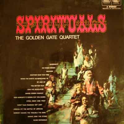 Cover The Golden Gate Quartet - Spirituals (LP, Album, RE) Schallplatten Ankauf