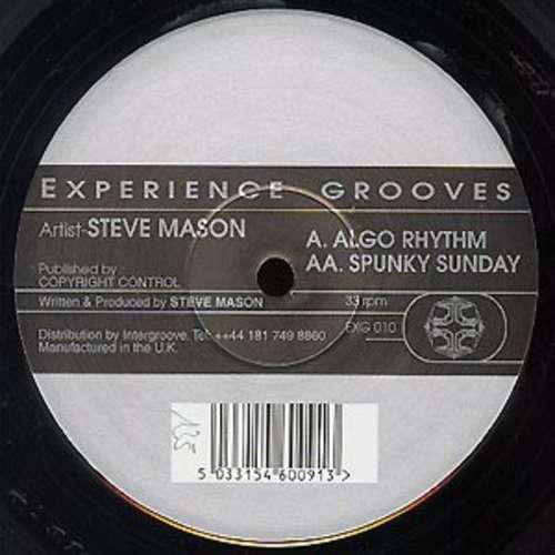 Cover Steve Mason - Algo Rhythm (12) Schallplatten Ankauf