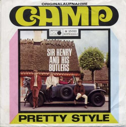 Cover zu Sir Henry And His Butlers* - Camp (7, Single) Schallplatten Ankauf