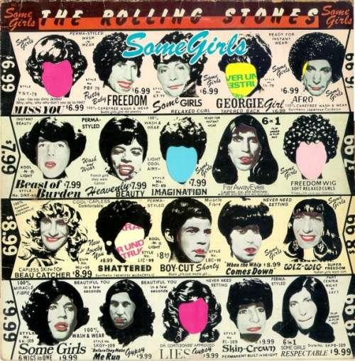 Cover The Rolling Stones - Some Girls (LP, Album, Red) Schallplatten Ankauf