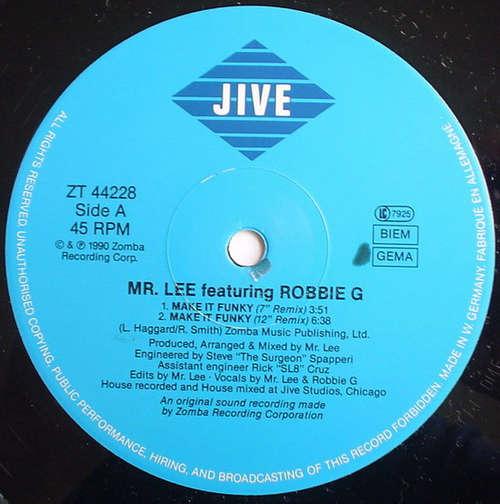 Cover Mr. Lee - Make It Funky (12) Schallplatten Ankauf