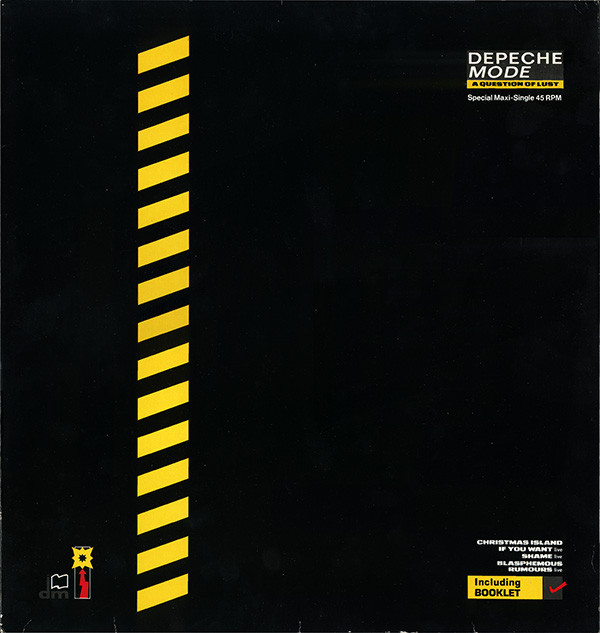 Cover Depeche Mode - A Question Of Lust (12, Maxi, S/Edition) Schallplatten Ankauf