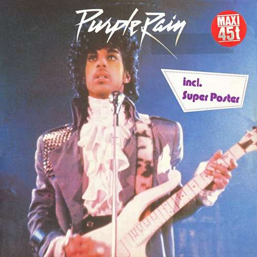 Cover Prince And The Revolution - Purple Rain (12, Maxi, Ltd, Pos) Schallplatten Ankauf