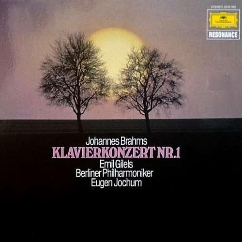Bild Johannes Brahms - Emil Gilels, Berliner Philharmoniker, Eugen Jochum - Klavierkonzert Nr. 1 (LP) Schallplatten Ankauf