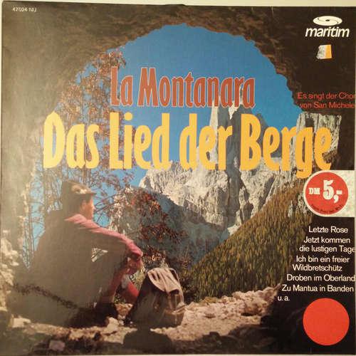 Bild Der Chor Von San Michele - La Montanara - Das Lied Der Berge (LP) Schallplatten Ankauf