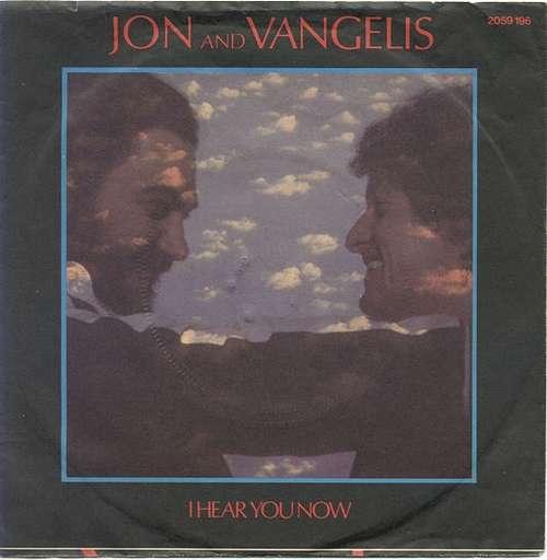 Cover Jon And Vangelis* - I Hear You Now (7, Single) Schallplatten Ankauf