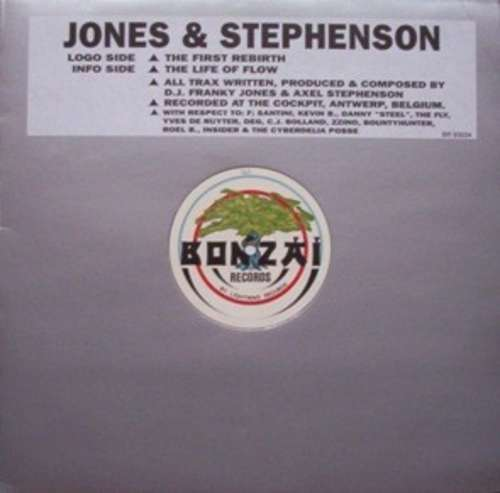 Cover Jones & Stephenson - The First Rebirth (12) Schallplatten Ankauf