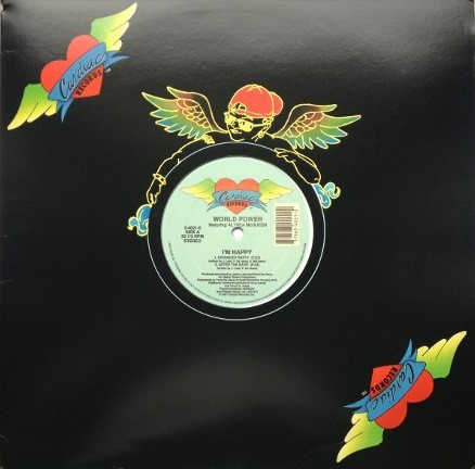 Cover World Power Featuring Althea McQueen - I'm Happy (12) Schallplatten Ankauf