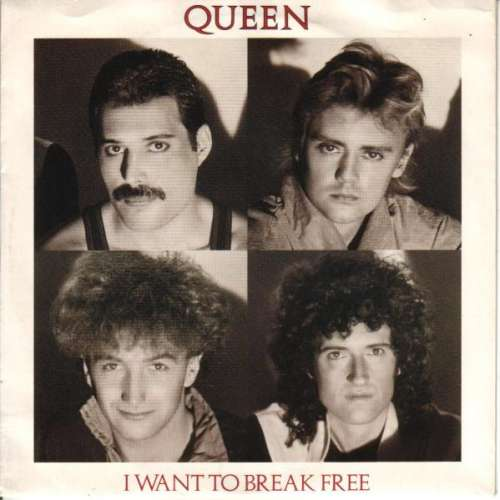 Cover Queen - I Want To Break Free (7, Single) Schallplatten Ankauf