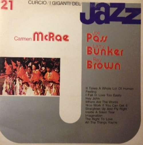 Bild Carmen McRae / Joe Pass / Larry Bunker / Ray Brown - I Giganti Del Jazz Vol. 21 (LP, Album, RP) Schallplatten Ankauf