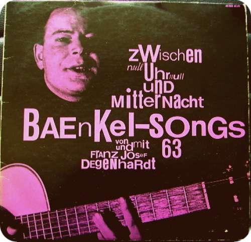 Bild Franz Josef Degenhardt - Zwischen Null Uhr Null Und Mitternacht: Baenkel-Songs 63 (LP, Album, Mono, RE) Schallplatten Ankauf