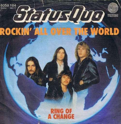 Bild Status Quo - Rockin' All Over The World (7, Single) Schallplatten Ankauf