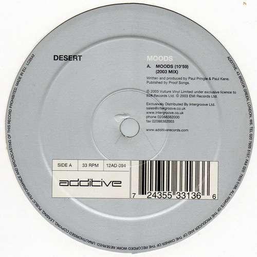 Bild Desert - Moods (12) Schallplatten Ankauf