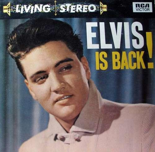 Cover Elvis Presley With The Jordanaires - Elvis Is Back! (LP, RE) Schallplatten Ankauf