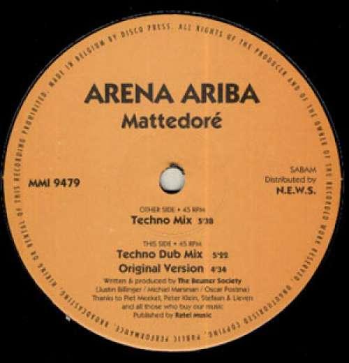 Bild Arena Ariba - Mattedoré (12) Schallplatten Ankauf