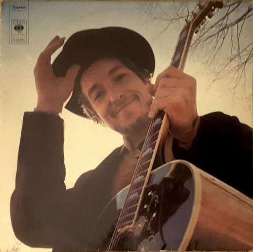 Cover zu Bob Dylan - Nashville Skyline (LP, Album) Schallplatten Ankauf