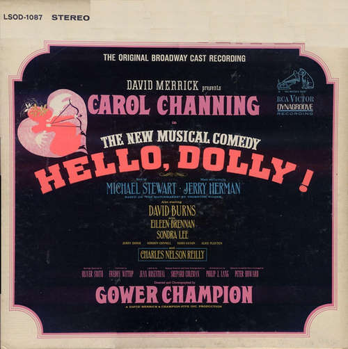 Bild David Merrick (2) Presents Carol Channing - Hello, Dolly! (The Original Broadway Cast Recording) (LP, Gat) Schallplatten Ankauf